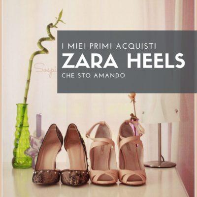 Il mio primo acquisto ZARA SHOES.