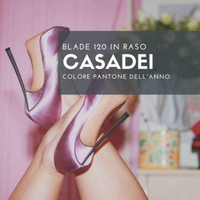 PANTONE 18-3224 : Radiant Orchid e le mie BLADE Casadei.