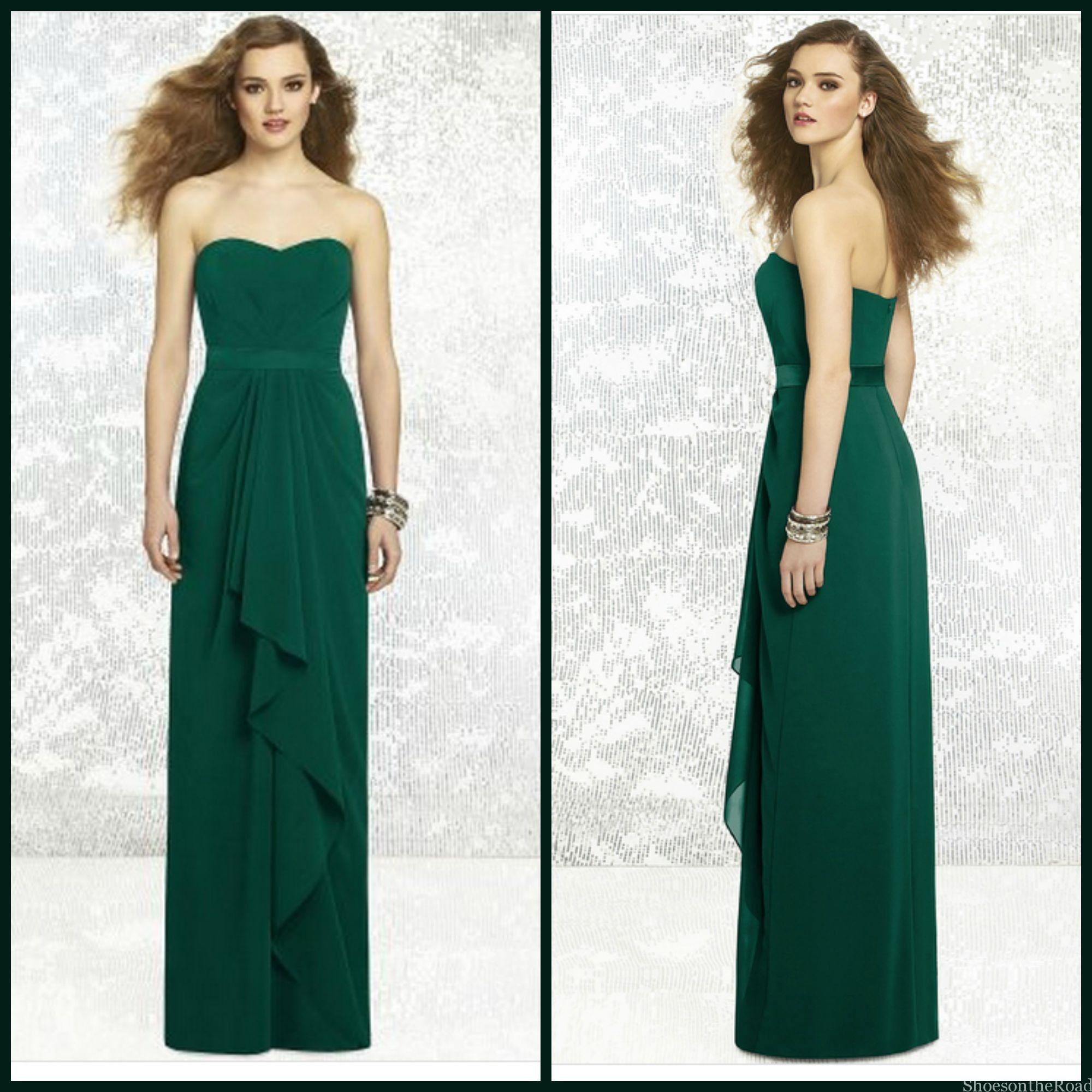 damigella d'onore guida Sleeveless Sweetheart Chiffon A-line Bridesmaid Dresses_shoesontheroad
