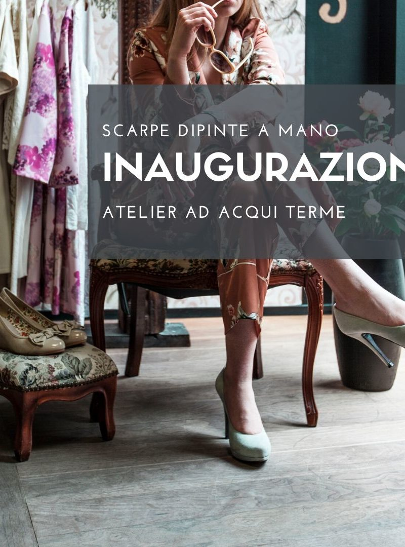 EKY D'ARTE e il suo atelier ad Acqui Terme