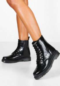 BASIC SHOES biker boots