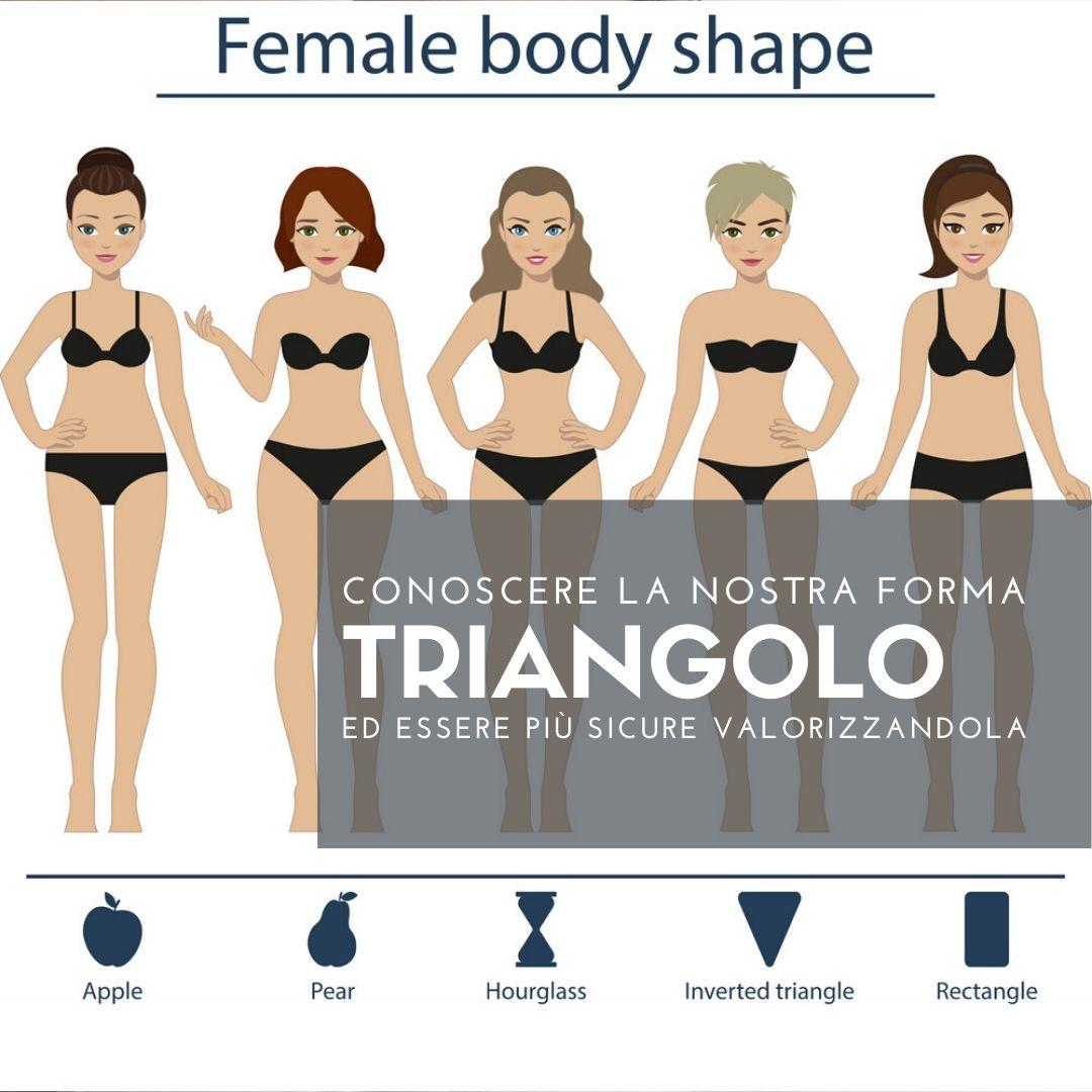 TRIANGOLO: riconoscere la forma del proprio corpo per valorizzarla al meglio
