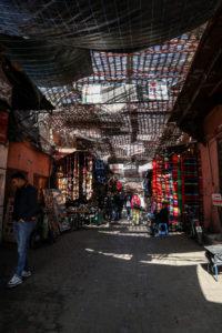 viaggiare in marocco souk coperto
